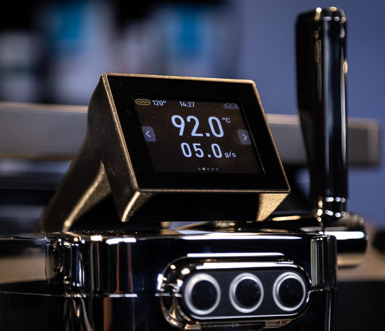display screen espresso machine