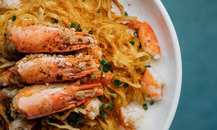 Shrimps at Happy Paradise, Hong Kong
