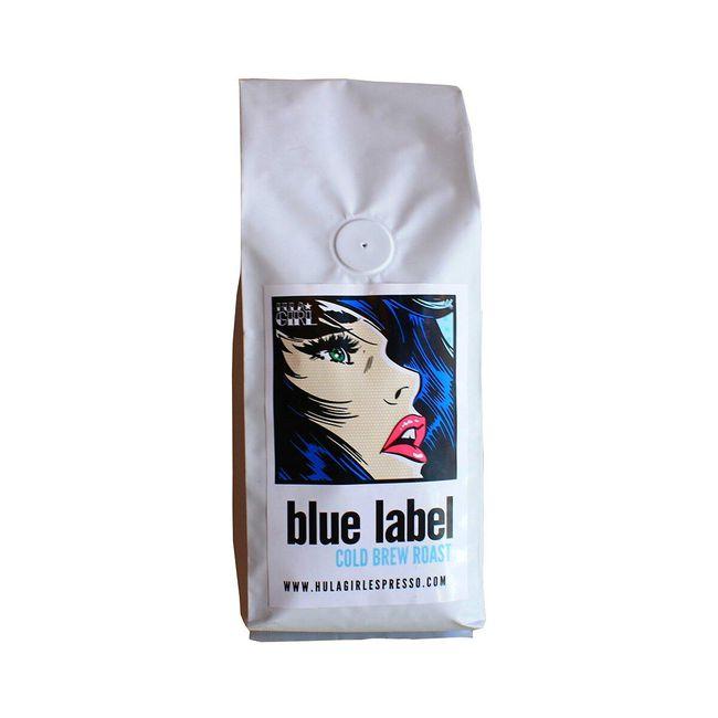 Hula Girl Espresso Blue Label cold brew roast, $27, hulagirlespresso.com