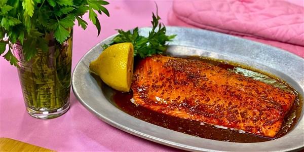 Baked Masala-Spiced Salmon