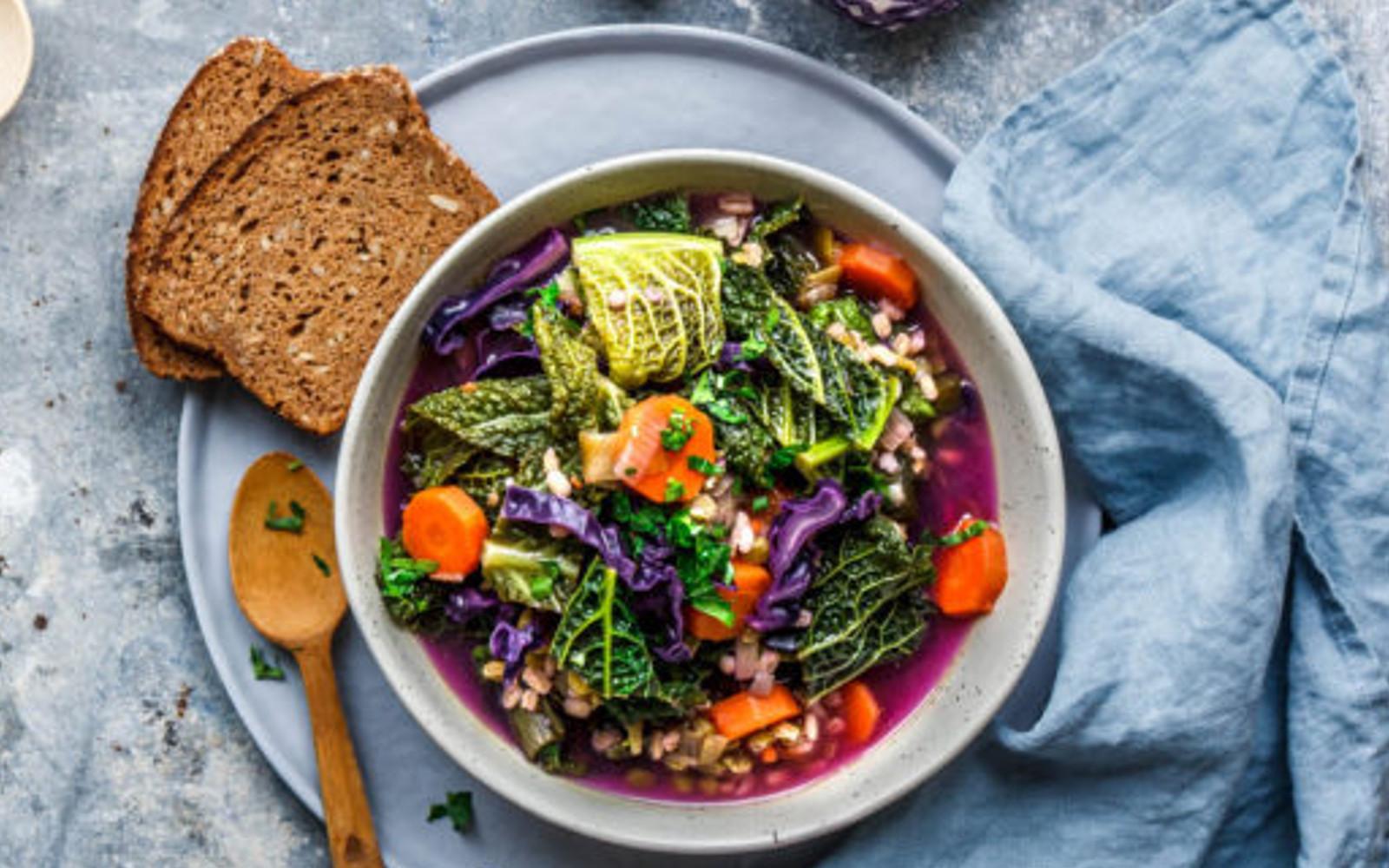 Purple Magic Soup
