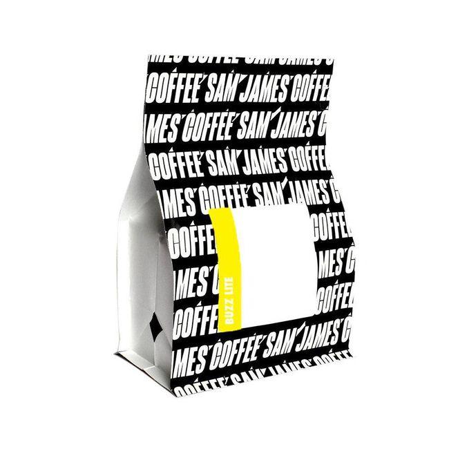 Sam James Coffee Bar Buzz Lite, $19.50, samjamescoffeebar.com