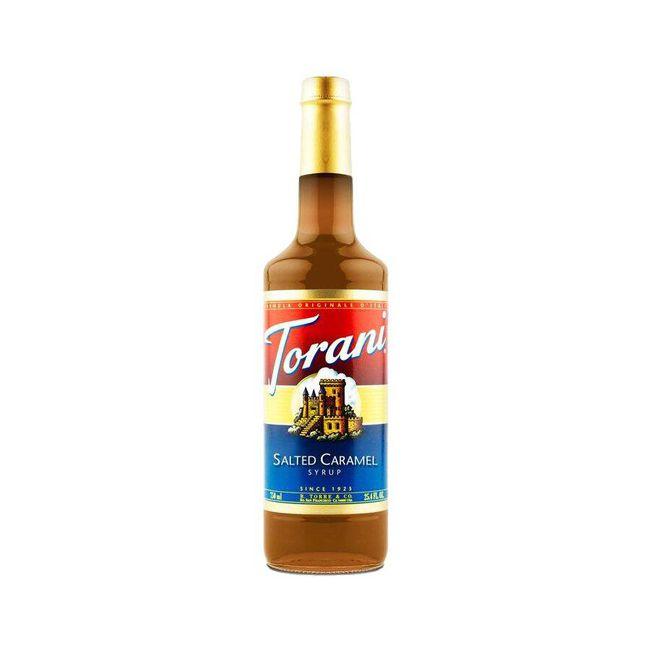 Torani salted caramel syrup, $13, ecscoffee.com