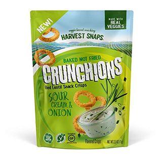 Red Lentil Sour Cream Onion Crunchions (Pack of 3)