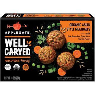 Organic Asian Style Pork & Veggie Meatballs