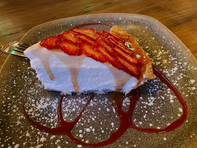 Strawberry pie at Moku Kitchen