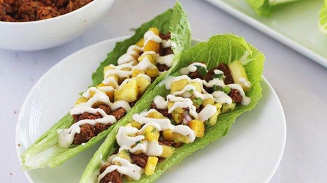 lentil walnut tacos