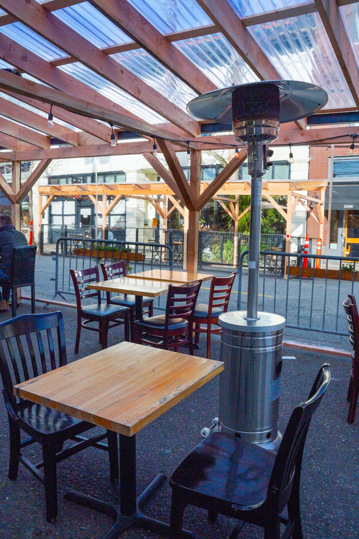 Sabone Seattle seating