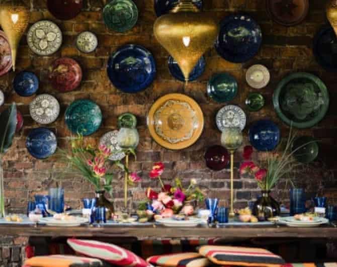 The garden bar at Wyle Blue World