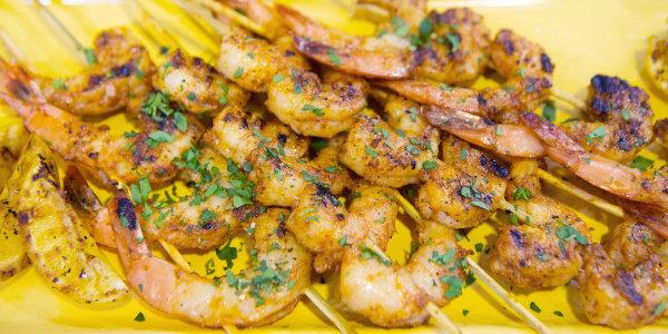 BBQ Shrimp Skewers