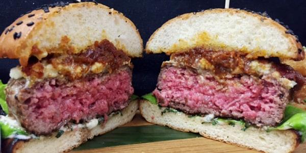 Red, White and Bleu Burger