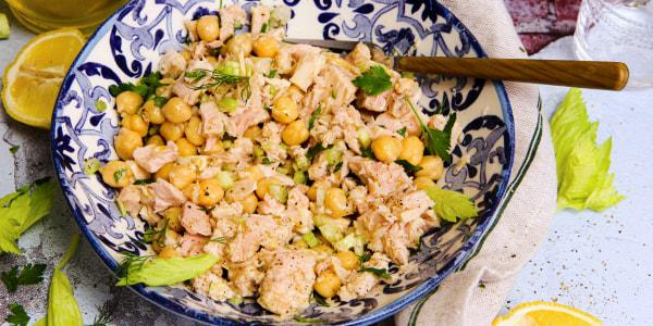 Chickpea and Tuna Salad